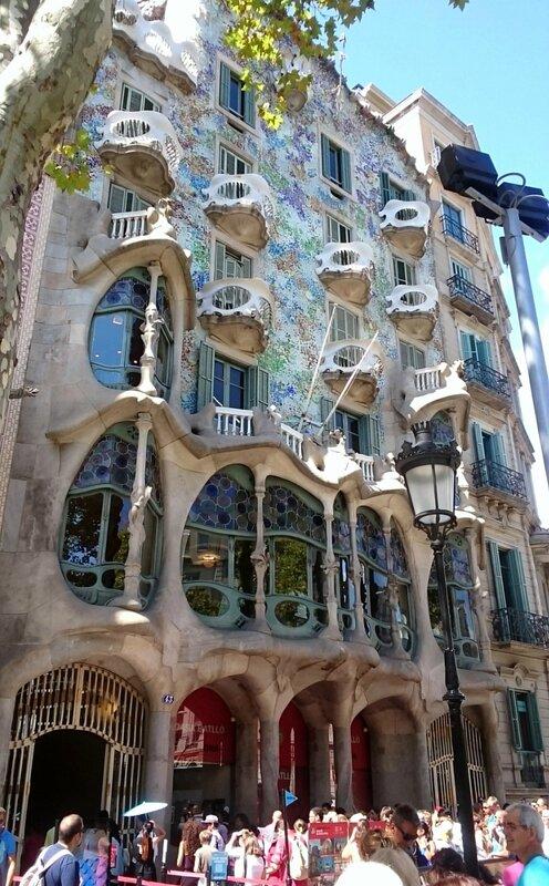 Барселона, дом Бальо (Barcelona, Casa Batllo)