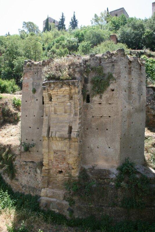 Гранада, остатки моста Кади