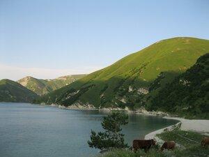 Закат на озере Кезеной-ам