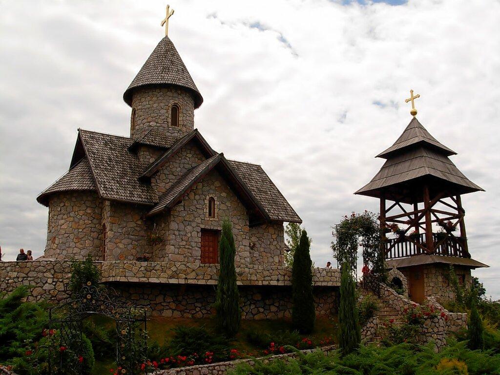 Etno selo Stanišići u Bijeljini i Manastir Sv. Nikole