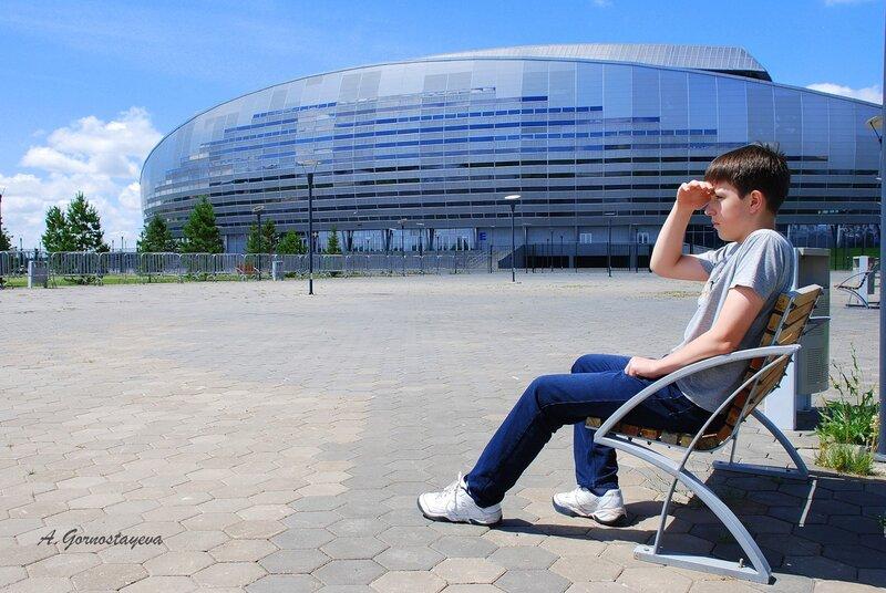 На торжественную церемонию открытия футбольного стадиона зрители смогут попасть на автобусах, курсирующих от семи...