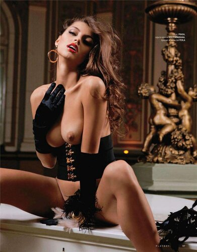 Валентина Колесникова / Valentina Kolesnikova in Playboy Russia august 2011