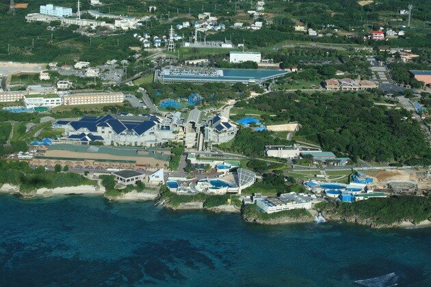 Океанариум «Окинава Тюрауми» (Okinawa Churaumi Aquarium). Япония