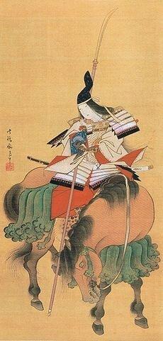 Tomoe Gozen (巴 御前) женщина самурай.