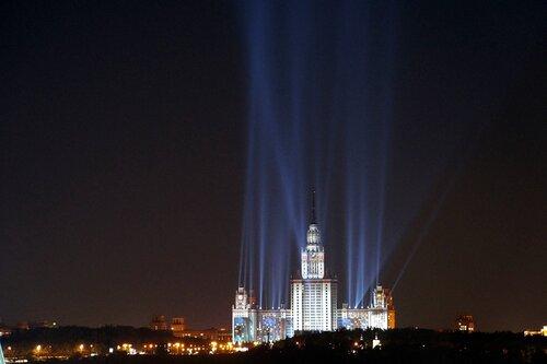 МГУ - подготовка к дню города