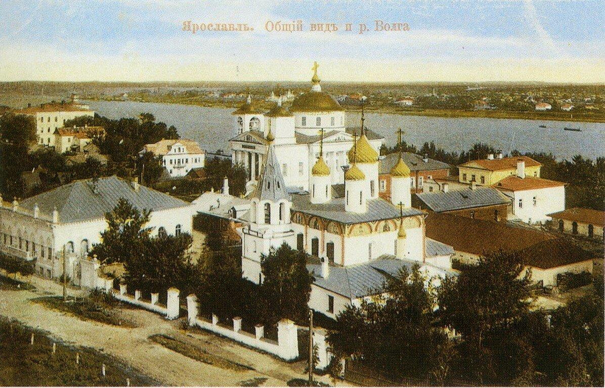 Общий вид и река Волга