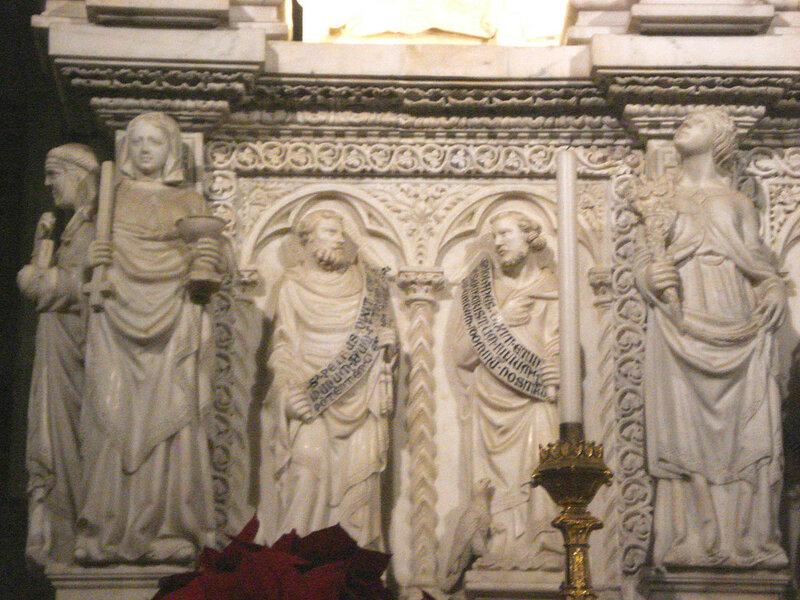 009-аллегории веры и надежды, апостолы Петр и Иоанн.jpg