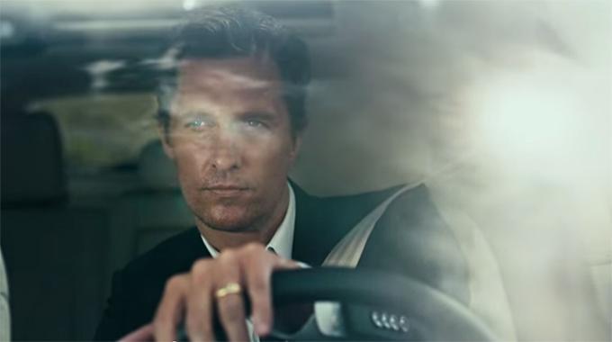 Мэтью МакКонахи в рекламе автомобиля