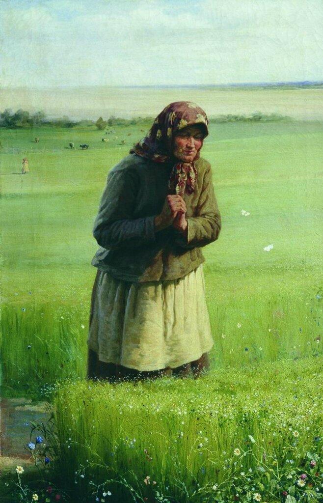 У своей полосы. 1891