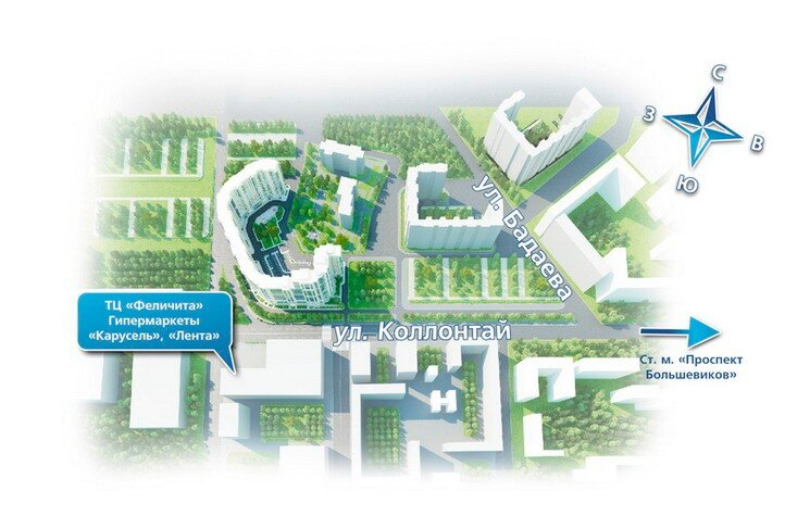 План строительства союзного проспекта спб