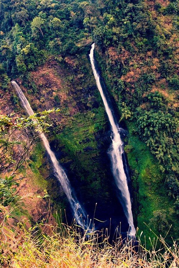 Laos, Pakse, плато Болавен (Bolaven Plateau), Водопад Тат Фан (Tat Fane)