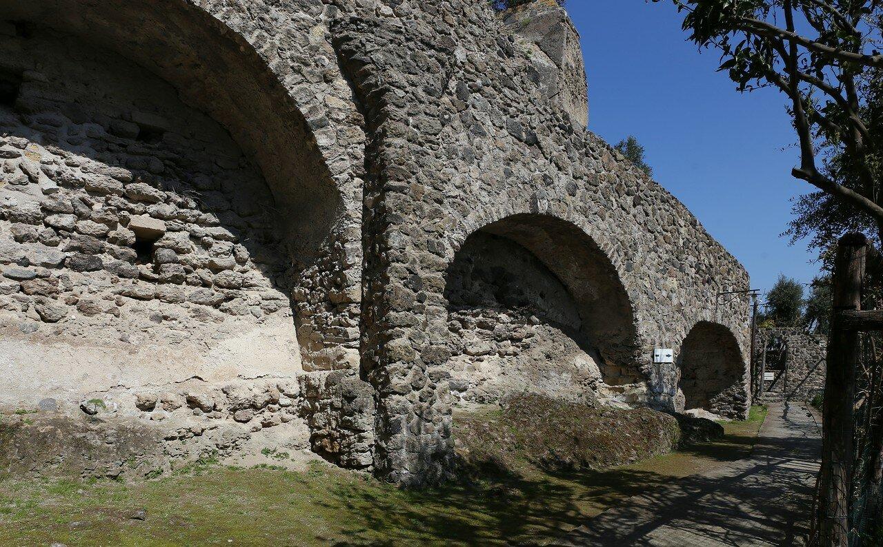 Ischia, the Aragonese castle. The Bourbon prison