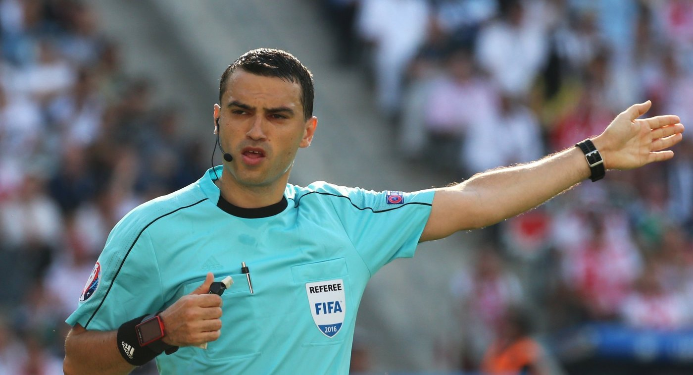 Спарринг-матчи сборной РФ  обслужат арбитры изРумынии иПольши