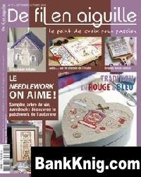 Журнал De Fil en Aiguille №73 2009 jpg 67Мб