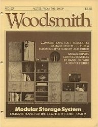 Woodsmith №22 1982