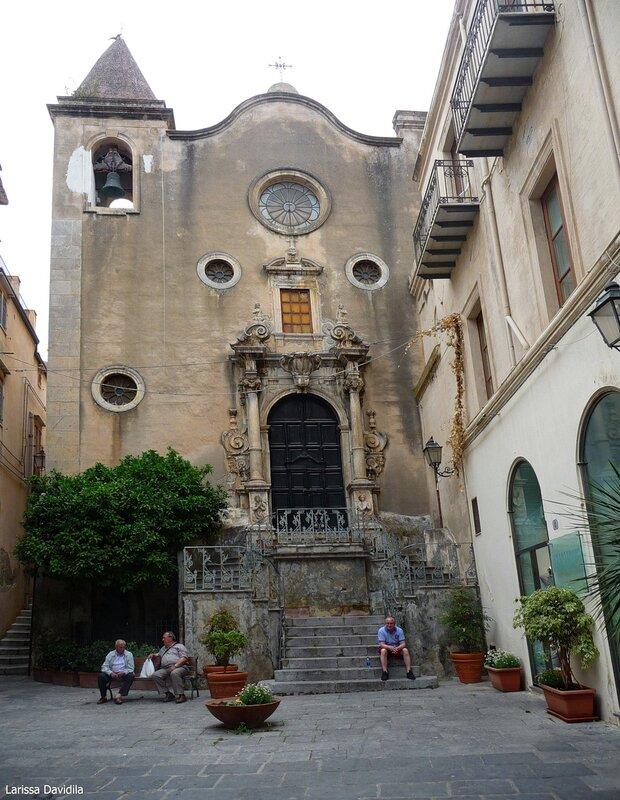 La chiesa del Purgatorio, altrimenti nota come chiesa di Santo Stefano (1668).