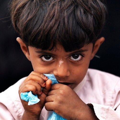 Kid in Nizwa, Oman