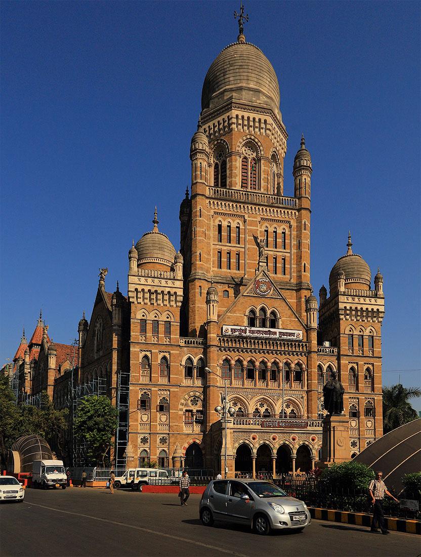 Фото 20. MCGM (Здание городского коммунального управления в Мумбаи. Отчеты о поездках по Индии