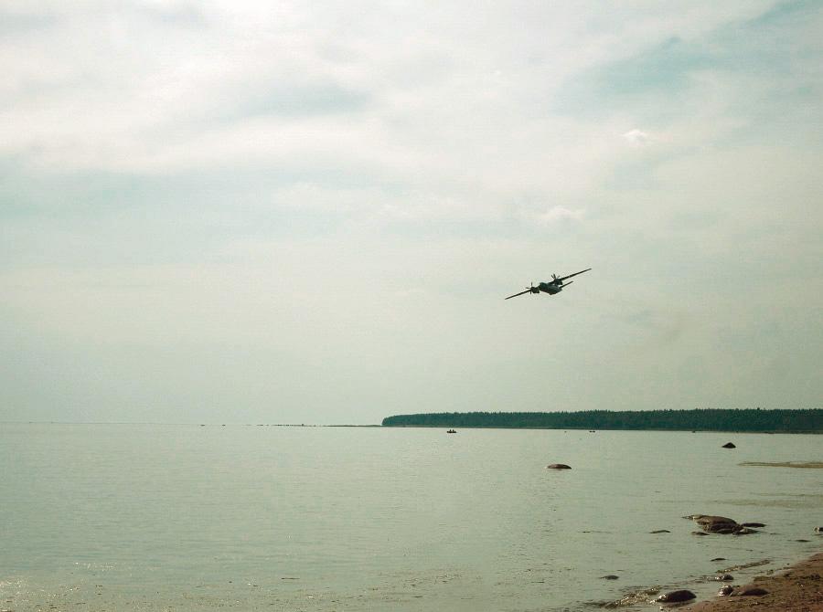 Низколетящий самолет