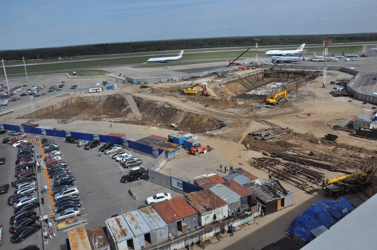 схема развития аэропорта шереметьево