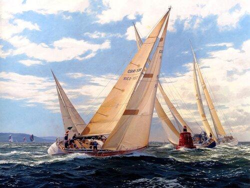 John Steven Dews. Парусники и яхты