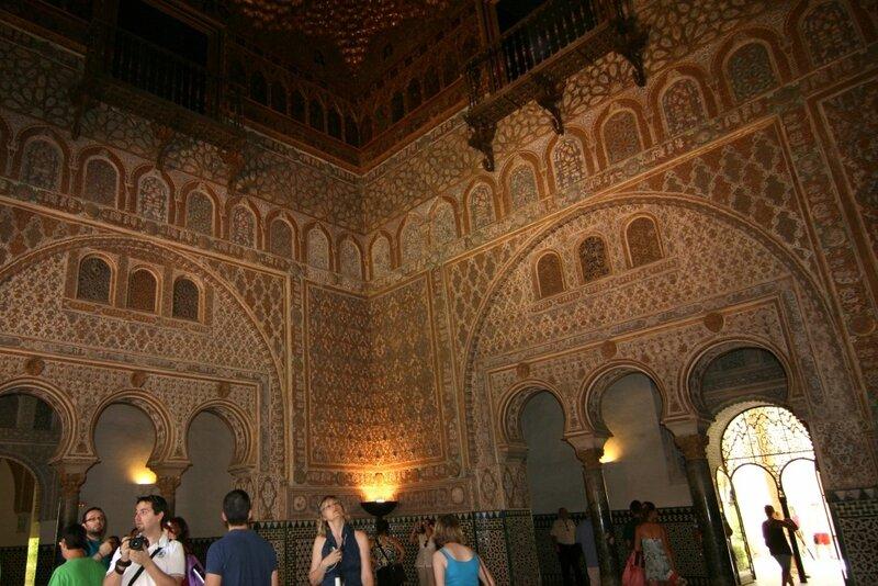 Севилья, Дворцы Алькасара