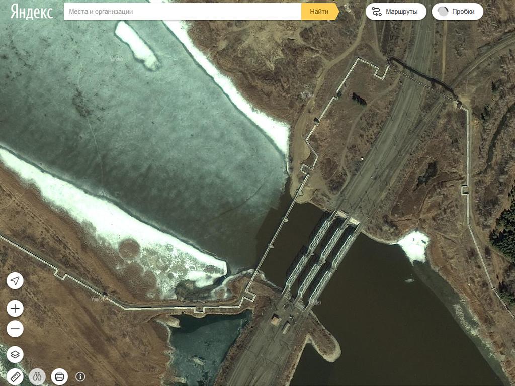 Троицк вновь обновился на Яндекс-картах