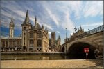 Гент - небо и мост святого Михаила