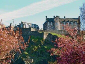 Дарк Хилл Кастл, Шотландия