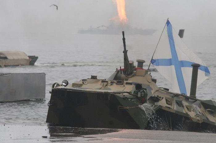 Во Владивостоке прошла генеральная репетиция празднования дня Военно-Морского Флота