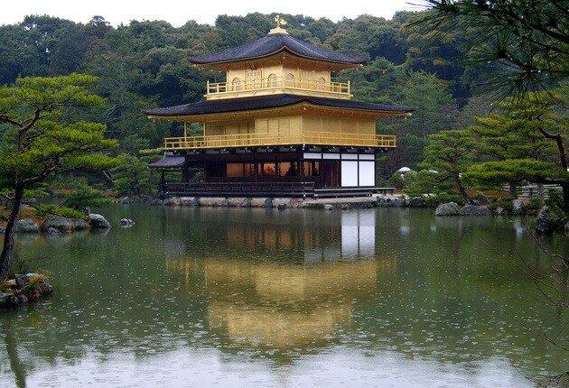 Золотой павильон (Кинкаку-дзи). Киото, Япония