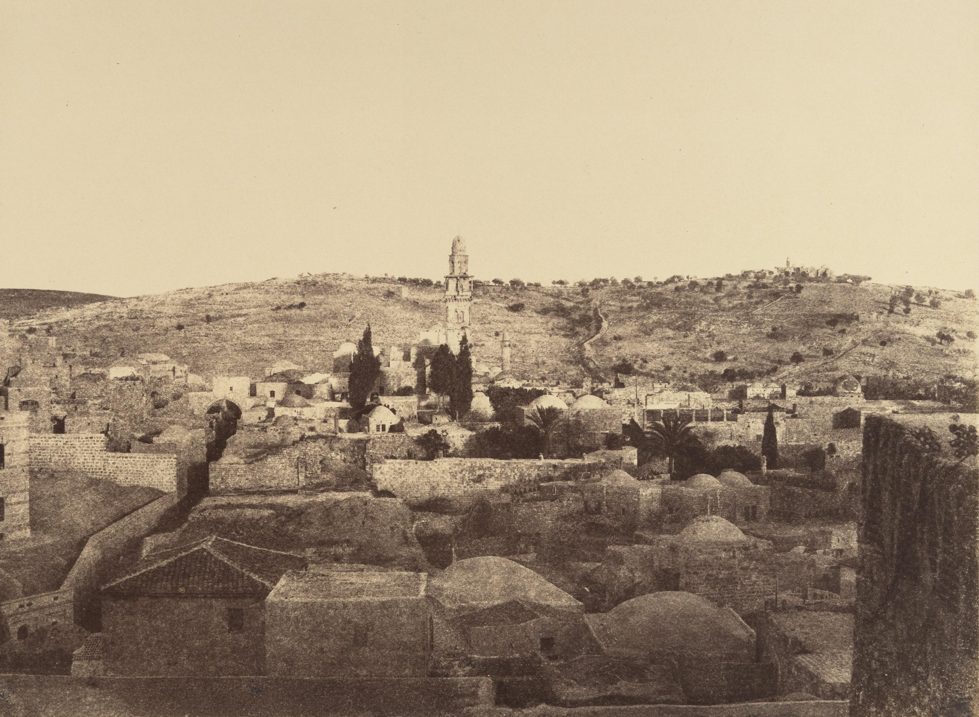 Башня Антония и ее окрестности