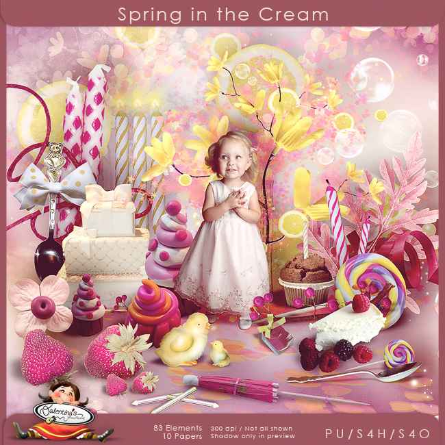 Spring in the cream