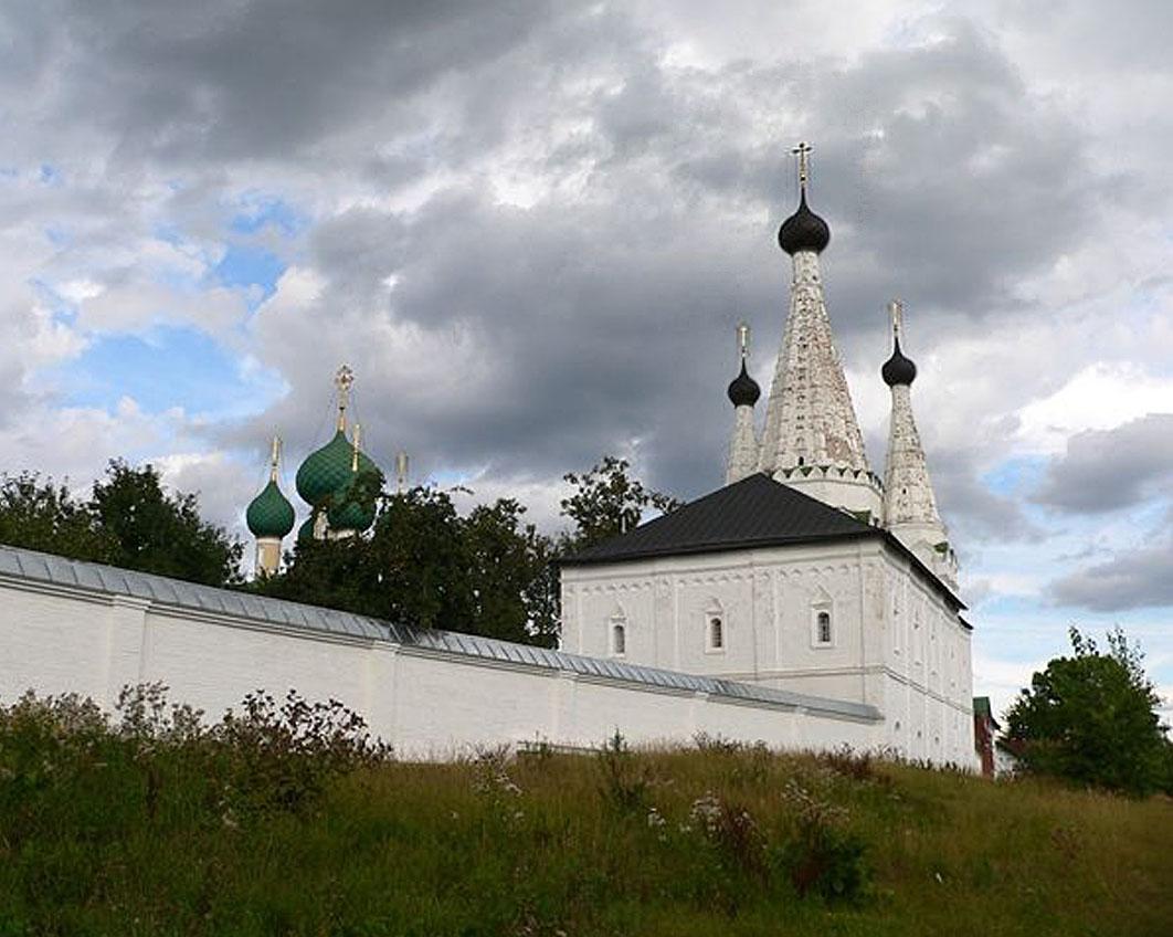 Дивная Церковь, Алексеевский женский Монастырь, Углич,цветная