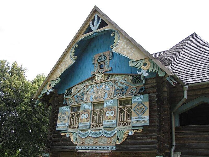 Резные украшение фасада дома своими руками 15