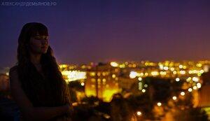 Без 5 минут осень портрет, фотосессия, на закате, город