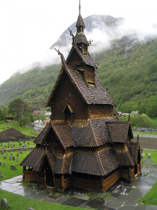 Сказочные мотивы архитектуры Норвегии