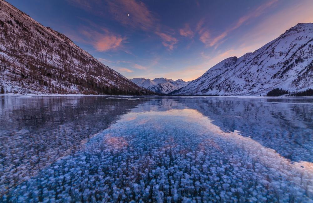 ©Anton PetrusМультинские озера, Алтай. Это нежные тонкие березки