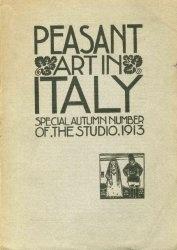Книга Peasant art in Italy