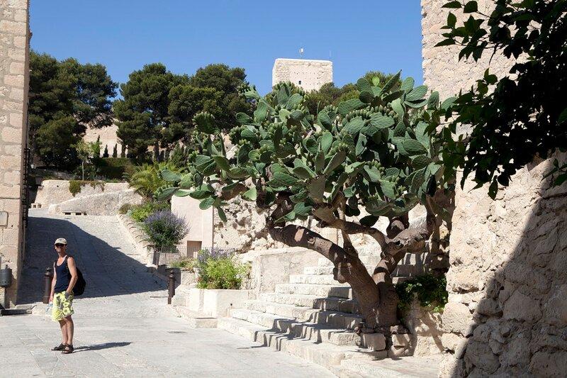 Castle Santa Barbara in Alicante.