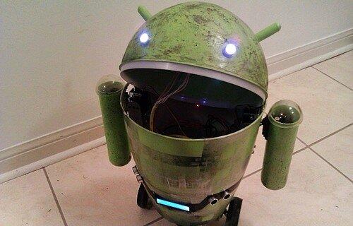Робот андроида своими руками