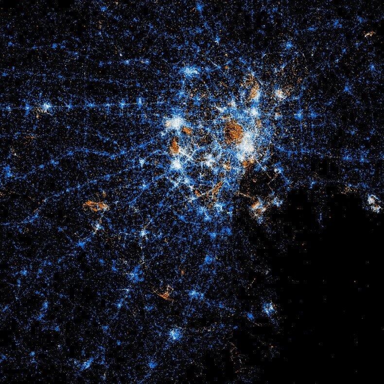 карта сетевых связей