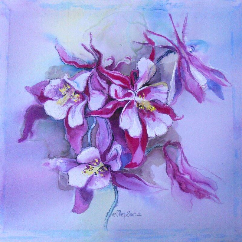 Картинки цветов для батика 4