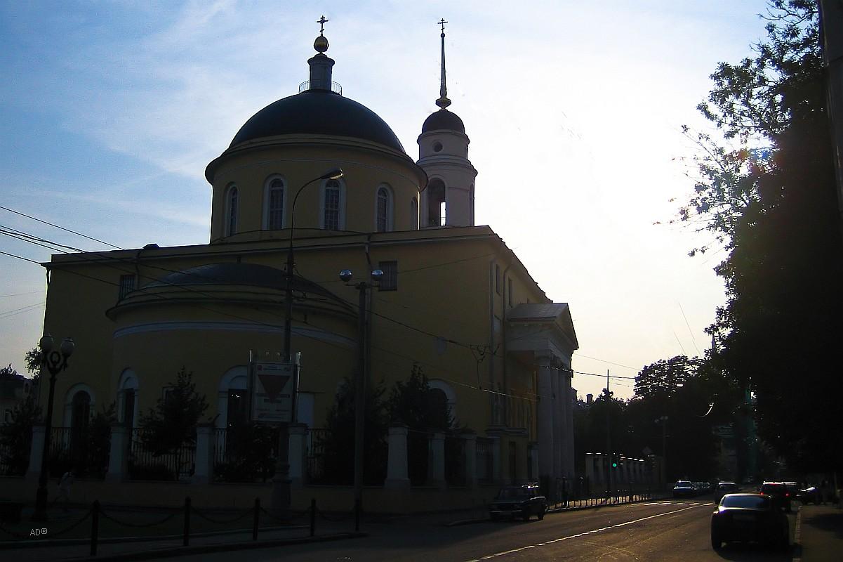 Храм Вознесения Господня (Большое Вознесение) в Сторожах, у Никитских ворот