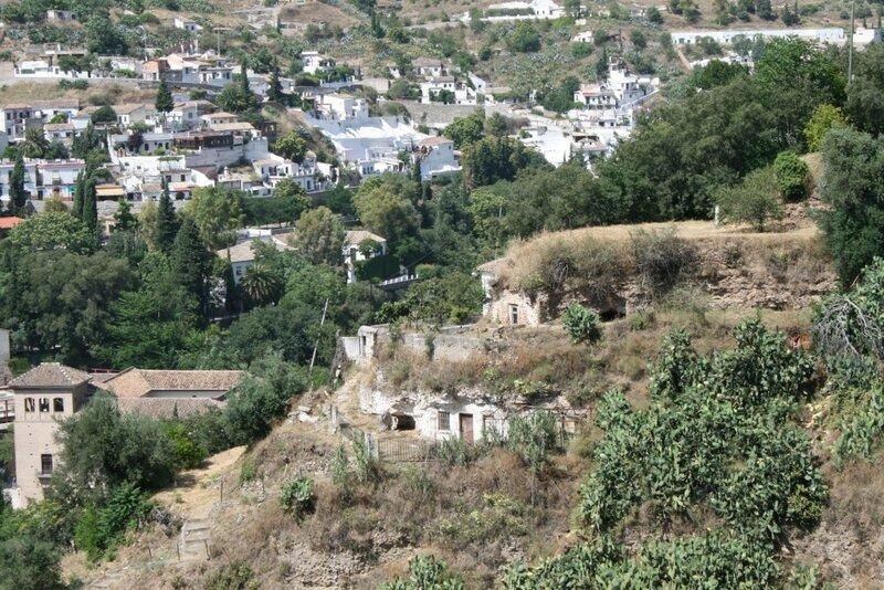 Гранада, вид на Сакромонте