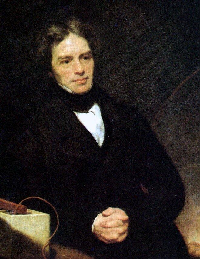 Майкл Фарадей, 1842 год