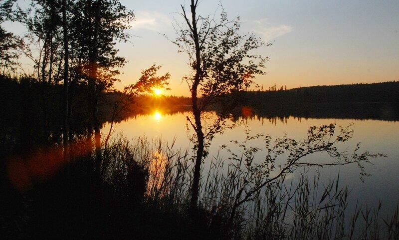 Озеро Щучье: время 00:19