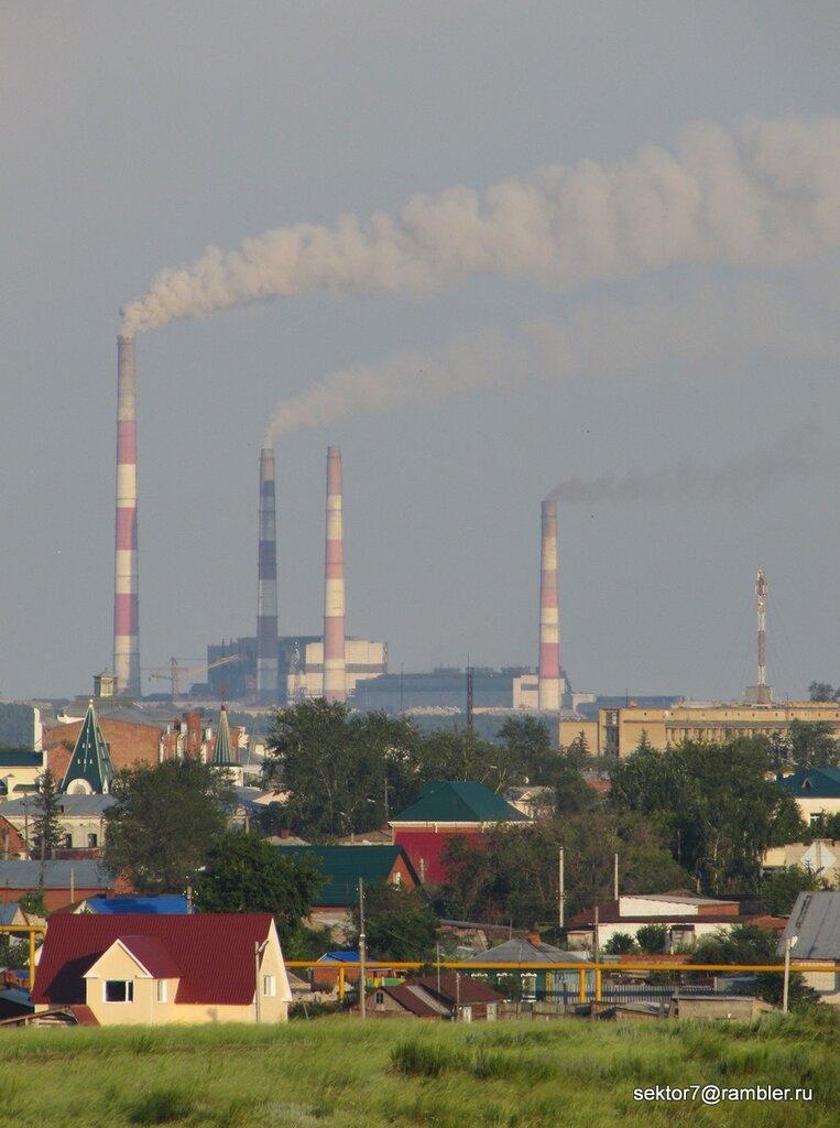 Город издалека (Фото Троицка)