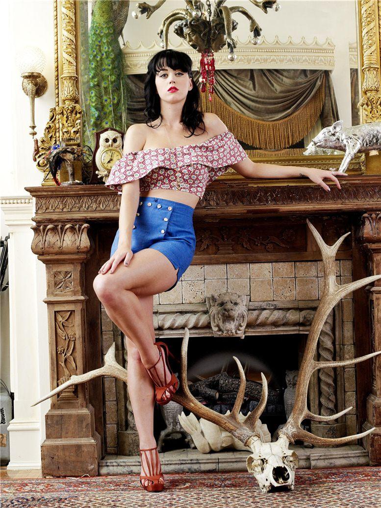 модель Кэти Перри / Katy Perry, фотограф Todd Selby