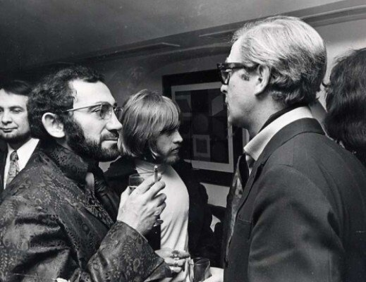 Brian Jones and Michael Caine